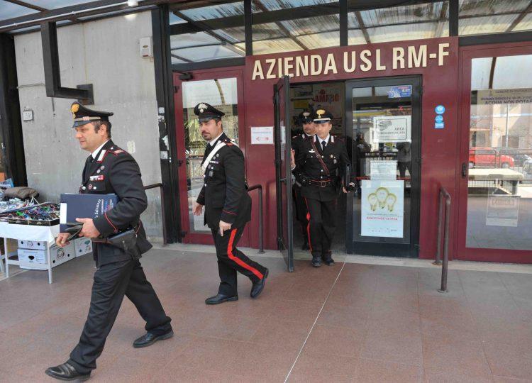 Blitz dei carabinieri, trema la Asl