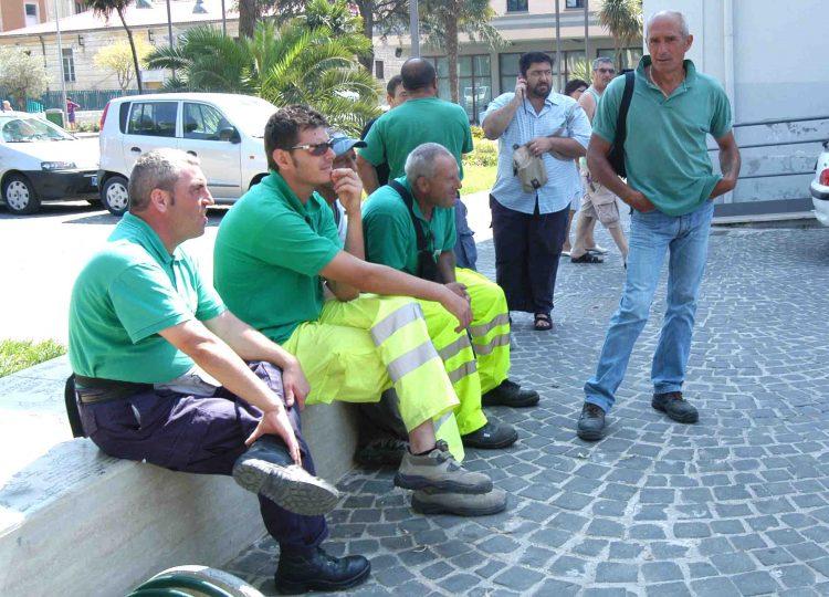 Città Pulita, dipendenti in stato di agitazione