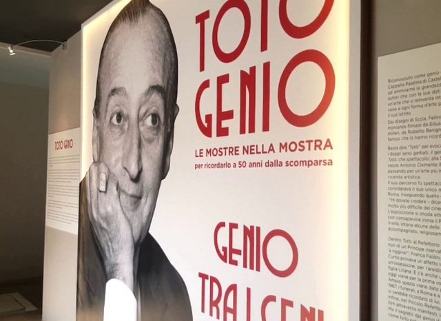 ''Totò Genio'', inaugurata la mostra