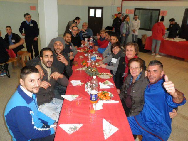 Comunità Sant'Egidio, pranzo di Natale tra giochi e regali alla Casa Circondariale