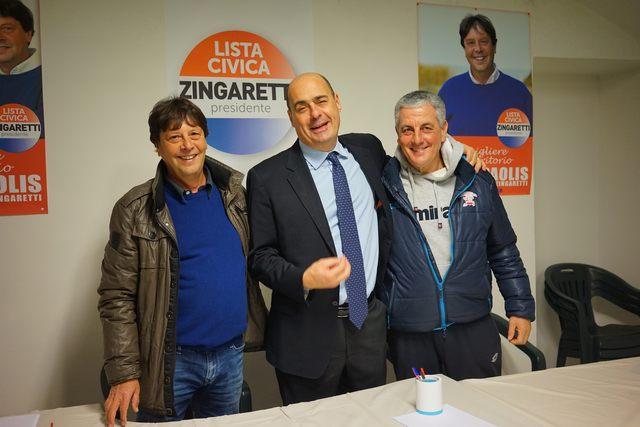 """Gino De Paolis: """"Continueremo con Zingaretti a risolvere i problemi"""""""