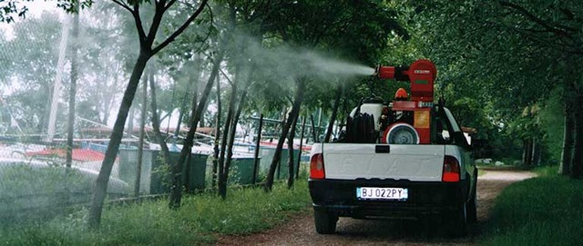 Nuovo intervento di disinfestazione contro la zanzare e altri insetti alati
