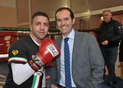 Sergio Caci incontra Gianluca Branco