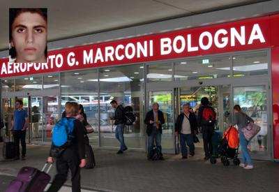 """""""Faccio il terrorista. No, scusi, il turista"""", il lapsus di Youssef all'aeroporto di Bologna"""