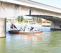Ponte della Scafa, ancora caos