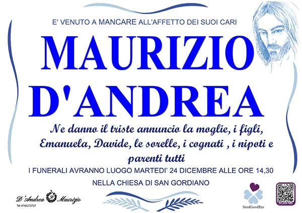 MAURIZIO D'ANDREA