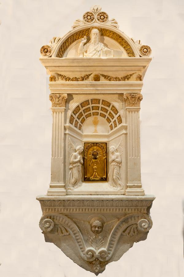 In Cattedrale l'inaugurazione della cappella del Santissimo Sacramento