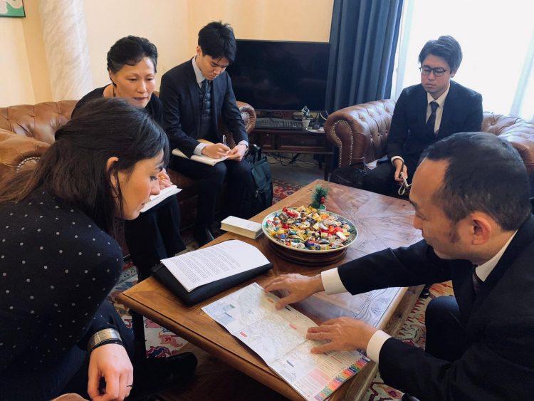 Turismo, Tarquinia studia nuove strategie con Tokyo