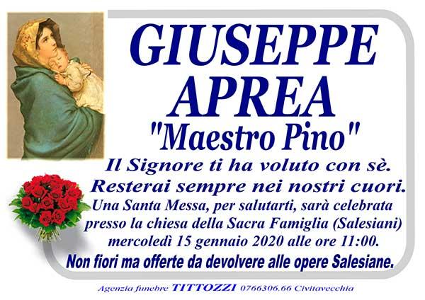 "GIUSEPPE APREA ""MAESTRO PINO"""