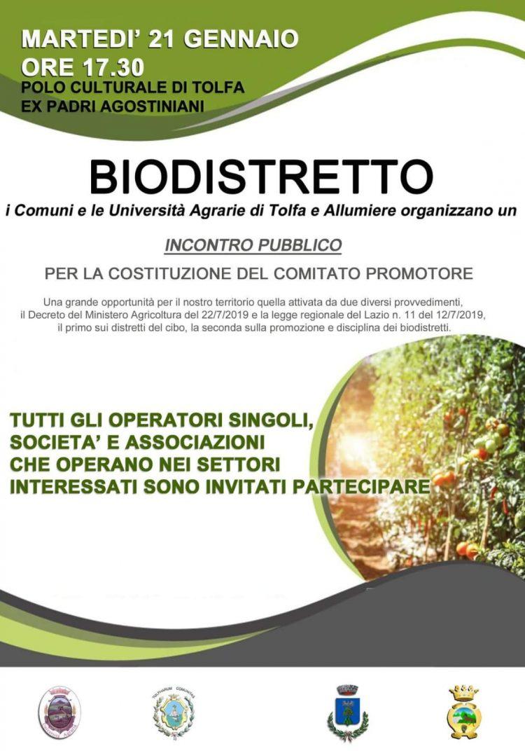 Biodistretto, incontro decisivo per la nascita di un comitato