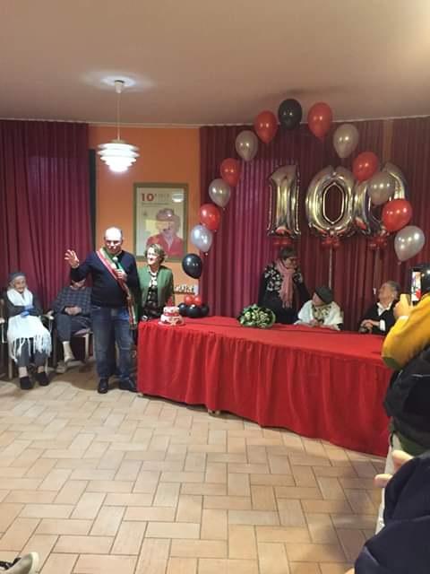 Compie 100 anni: festa per Betta Padelli