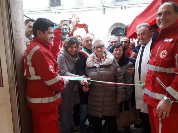 Croce rossa, inaugurata la sede di Tolfa