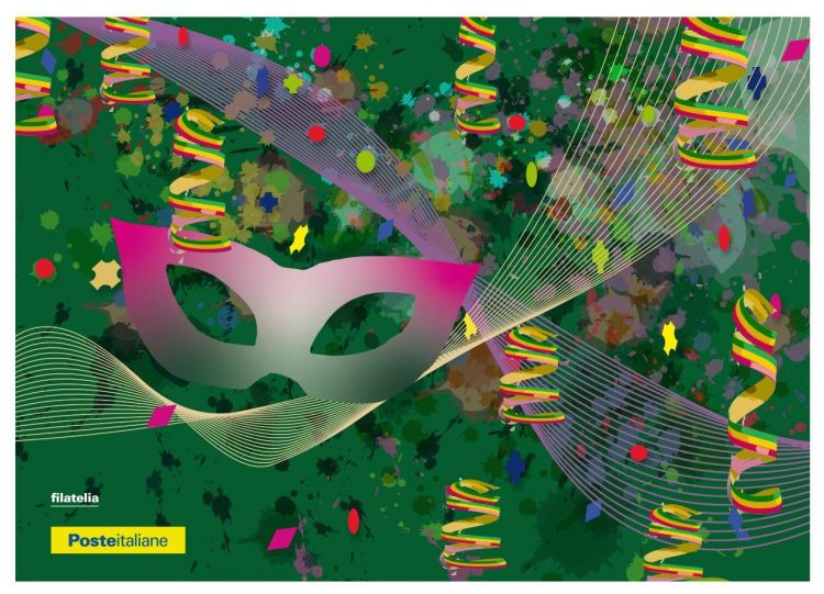 Carnevale, nell'ufficio postale di via G. Bruno due cartoline 'in maschera'