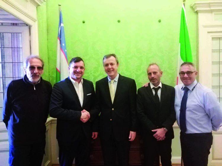 La Antonio Couture vola in Uzbekistan