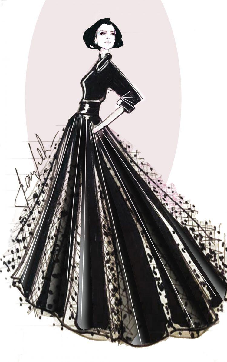 """Festival, """"black couture"""" per Tosca griffati Ciambella"""