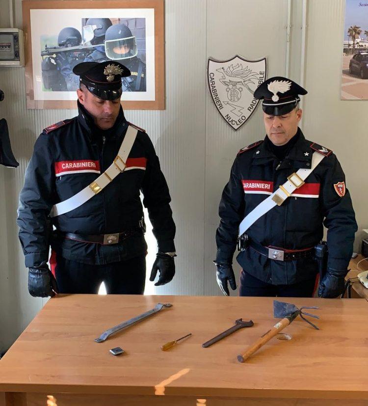 Furto in casa: arrestato dai Carabinieri 35enne di Santa Marinella