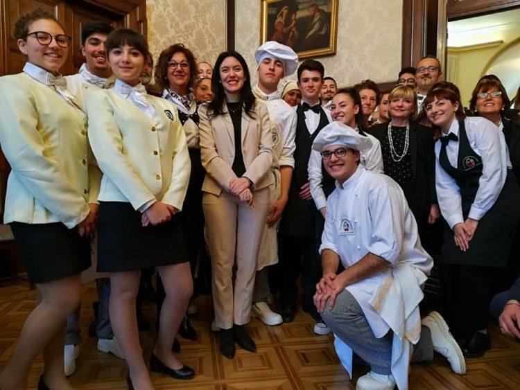 Il Cappannari sale in cattedra e conquista il ministro Azzolina