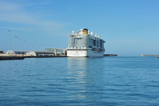 Costa Smeralda, sbarcati i passeggeri