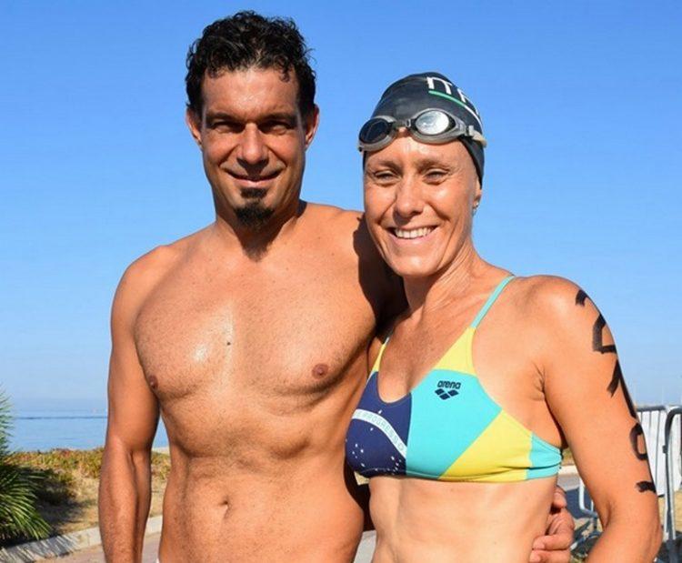 Maurizio Valiserra e Michela D'Amico ancora super ai Regionali: continua l'ottimo momento della Nuotatori Civitavecchiesi