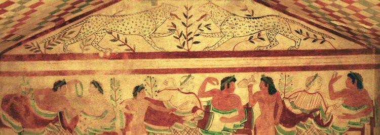 Gli Etruschi di Tarquinia e Cerveteri tappe del percorso di Meraviglie, la Penisola de tesori in onda su Rai 1