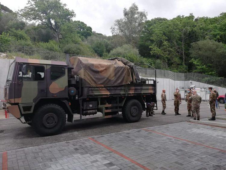 Il 7° Reggimento Cnbr sanificherà strutture sanitarie ed edifici pubblici