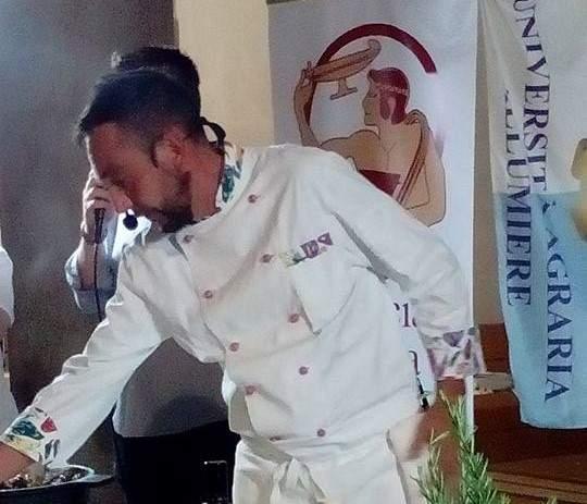 Coratella d'agnello con lo chef Cappelletti