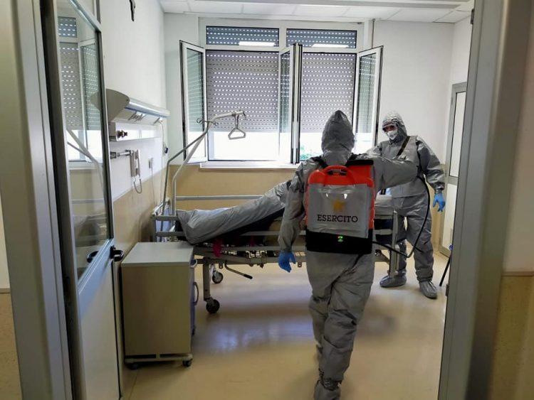 San Paolo, sanificato il reparto di Medicina ex covid dedicato