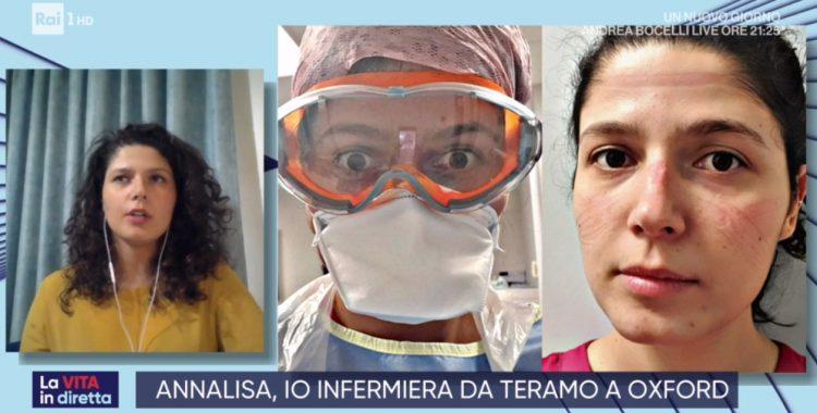 Annalisa Scisciani infermiera ad Oxford racconta il Coronavirus combattuto in prima linea
