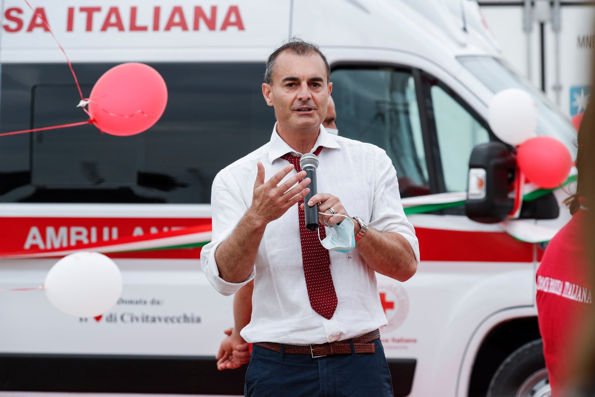 """Raccolta fondi, Lungarini: """"Una partecipazione inaspettata"""""""