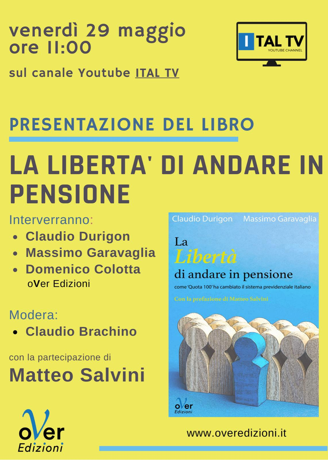 Su YouTube Ital TV il libro di Durigon e Garavaglia