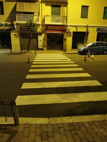 Segnaletica stradale, ultimati i lavori in Largo d'Ardia