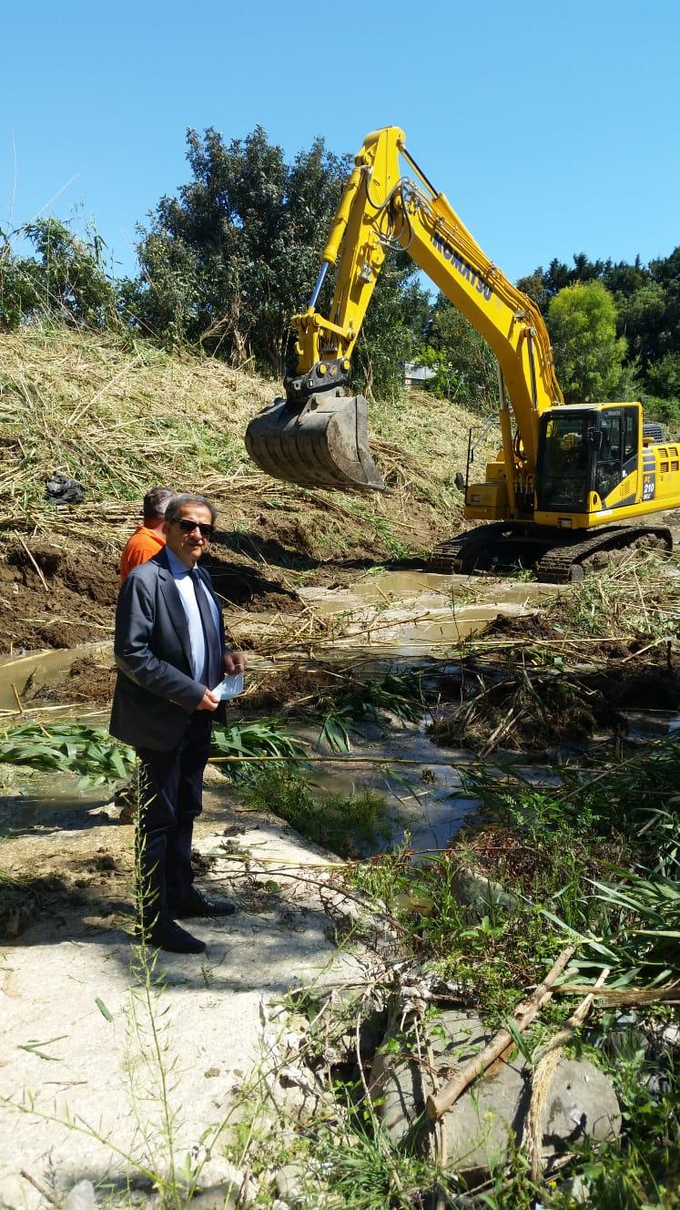 Rimesso a nuovo il fosso di Castelsecco, Tidei: «Promessa mantenuta»