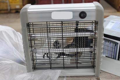 Sequestrate oltre 5000 zanzariere elettriche contraffatte