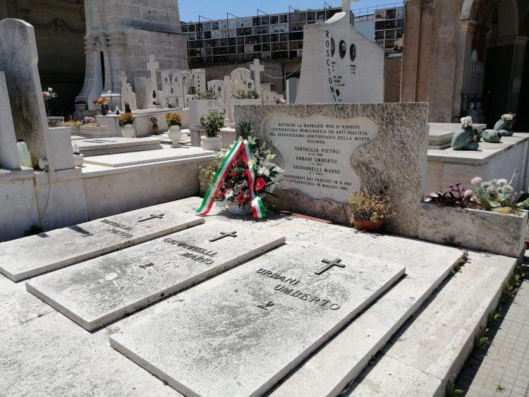 L'ANPI ricorda Umberto Urbani, Pietro Tartaglia e Mario Giovannelli