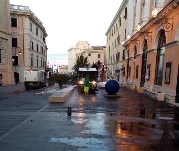 Sanificazione e igiene urbana in città