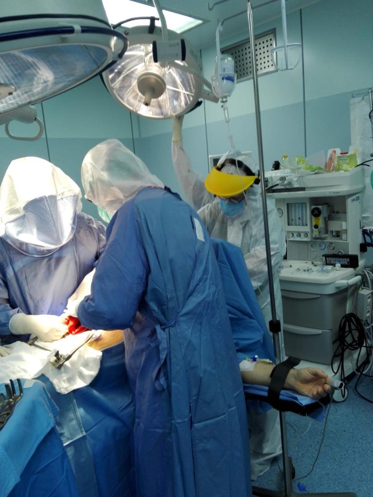 Il covid non rallenta la chirurgia d'urgenza
