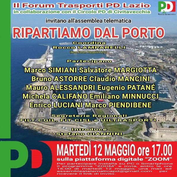 Porto, evento online del PD
