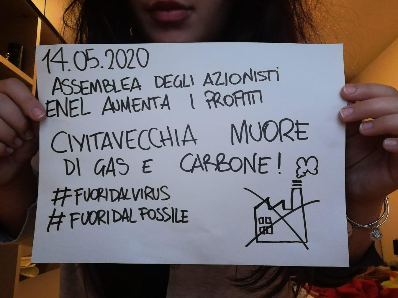 """Enel, iniziativa di """"NO al fossile""""contro assemblea azionisti"""