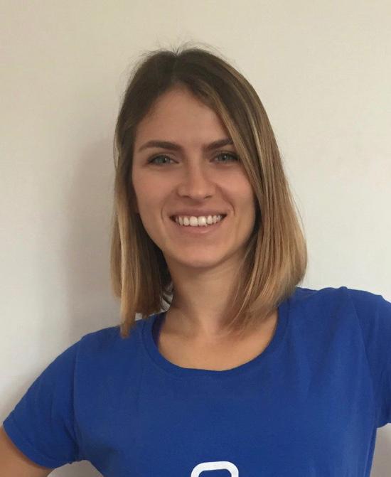 Martina Mori preparatrice atletica della Nazionale