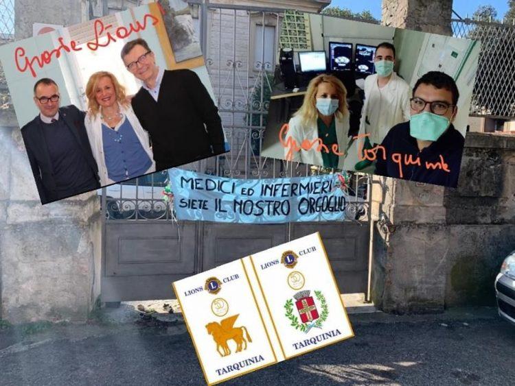Lions club, donati due monitor multiparametrici  all'ospedale di Tarquinia