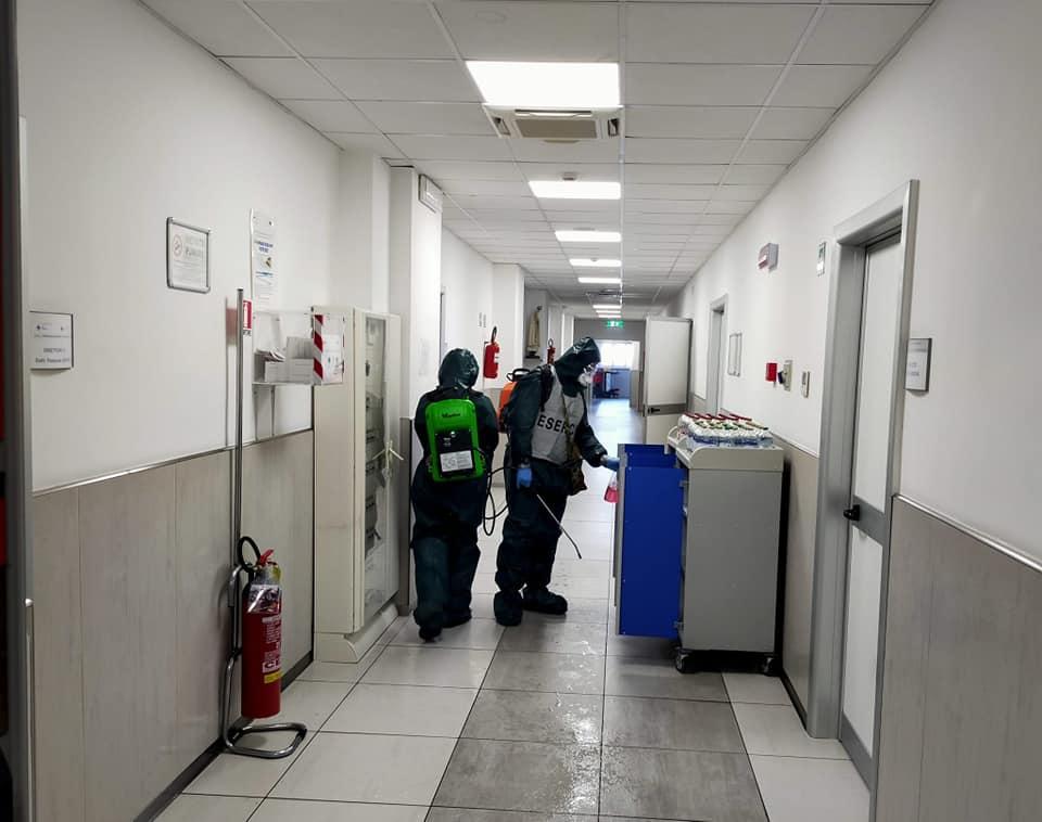 San Paolo, sanificati i  reparti di chirurgia e weekly surgery di medicina