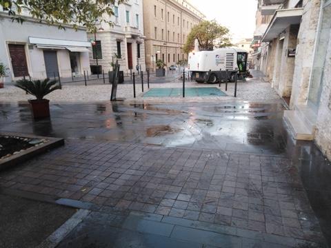 Igiene urbana e verde, ancora interventi in città