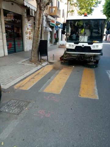 Proseguono le attività di igiene ambientale e segnaletica stradale