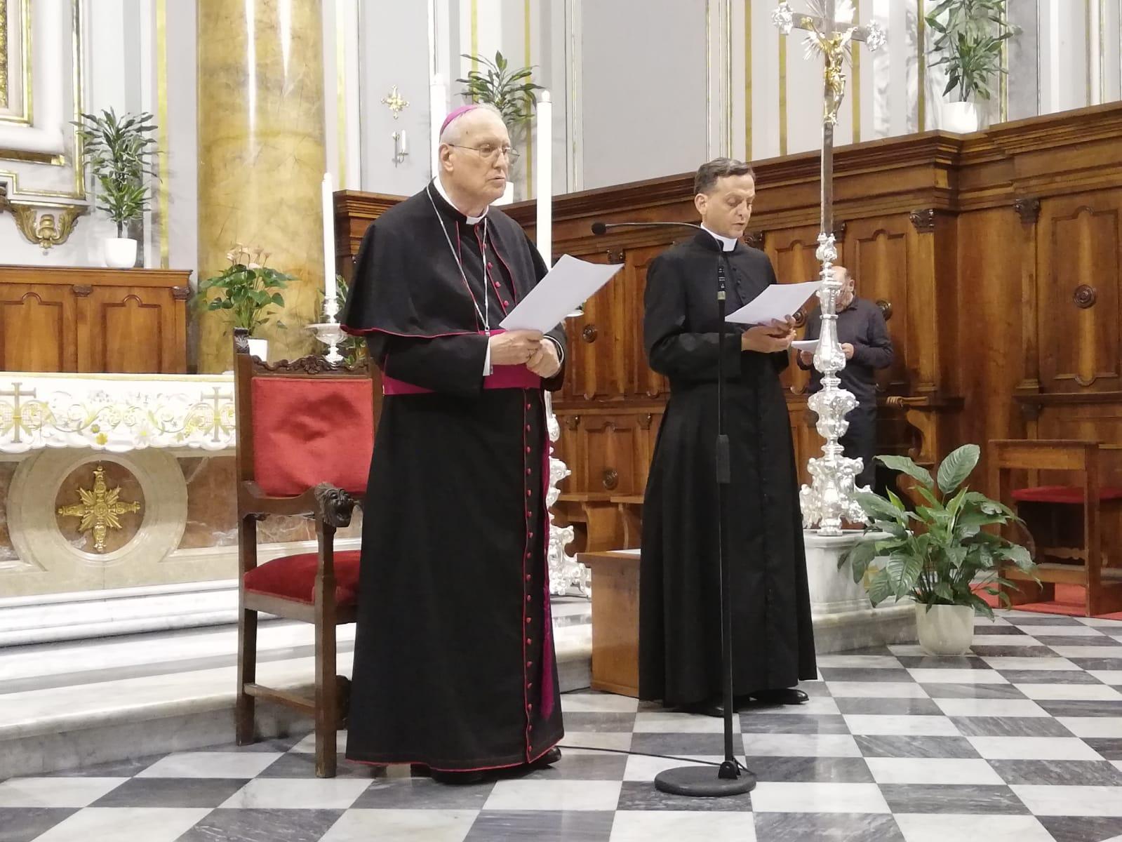 Ultima ordinazione sacerdotale per il vescovo Marrucci