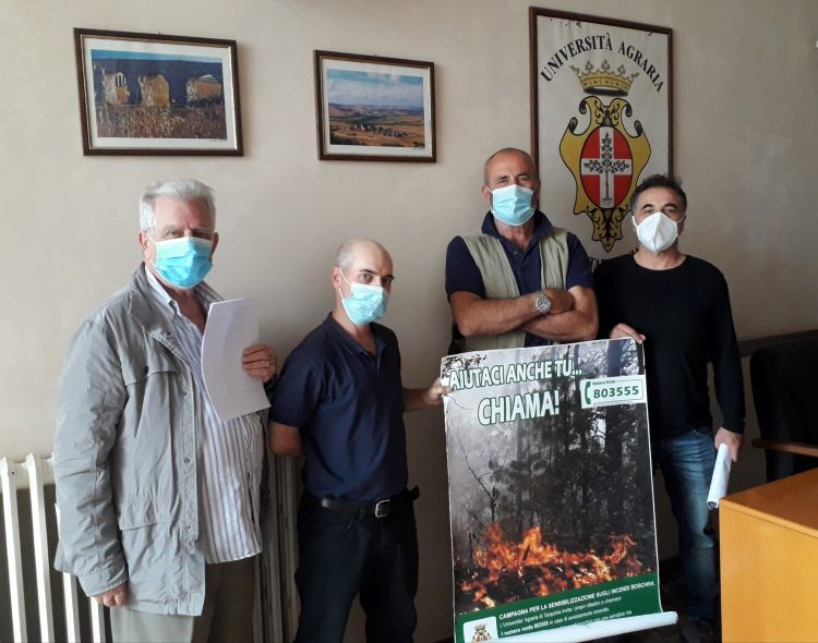 Tutto pronto per la campagna antincendio boschivo estiva 2020 da parte dell'Università Agraria di Tarquinia