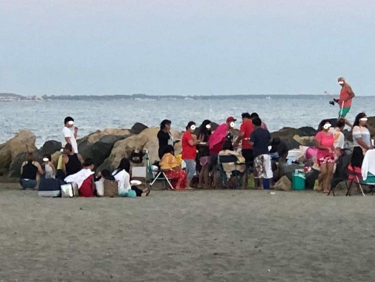 Ladispoli: pic-nic in spiaggia, scatta la protesta