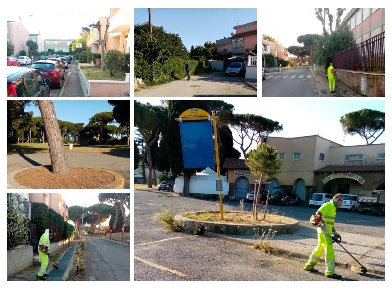 "Igiene ambientale e verde, ripulita ""Borgata Aurelia"""
