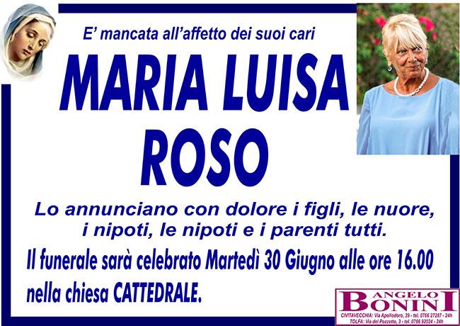 MARIA LUISA ROSO