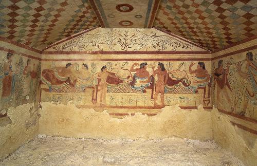 Riaprono i siti Unesco di Tarquinia e Cerveteri