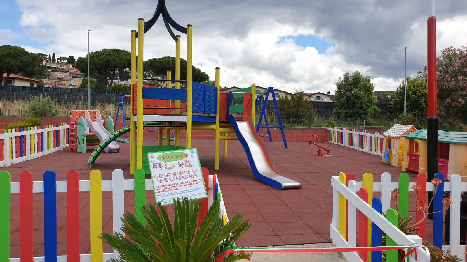 Parco Martiri delle Foibe ora più attrezzato per tutti